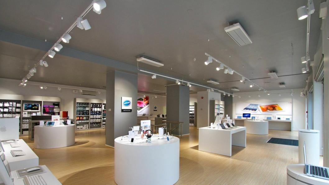 21 BUTIKKER: Smartday blir tilgjengelig gjennom Eplehusets bedriftssenter og 21 butikker rundt om i landet.