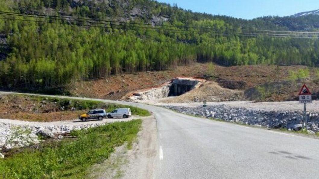 Arbeidene med forskjæring og riggområde ble gjort i vinter/vår 2016. Tunneljobben skal etter planen starte høsten 2016.