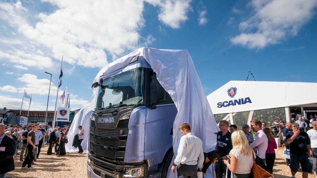 For første gang vises den nye Scania S-serien frem på hjemmebane på Elmia Lastbil i Sverige.