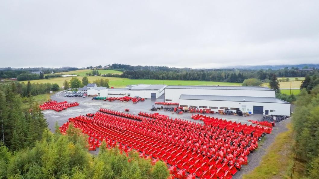 Tokvams egen fabrikk på Reinsvoll, Norge.
