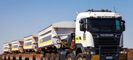 Scania R730 10x8 trekkvogn