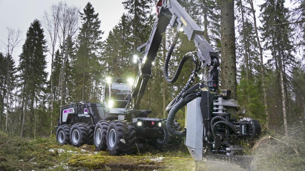 Logsets hybrid-hogger kommer på demo-tur til Norge seinere i høst.