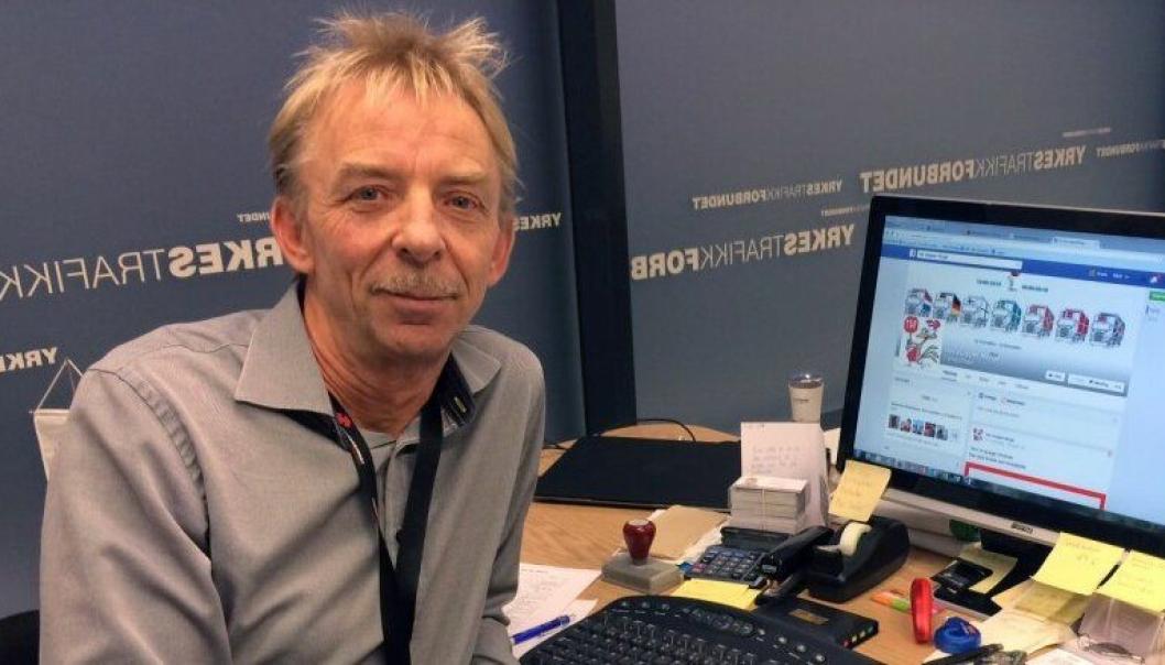 Forbundsleder Svein Furøy i Yrkestrafikkforbundet (YTF).
