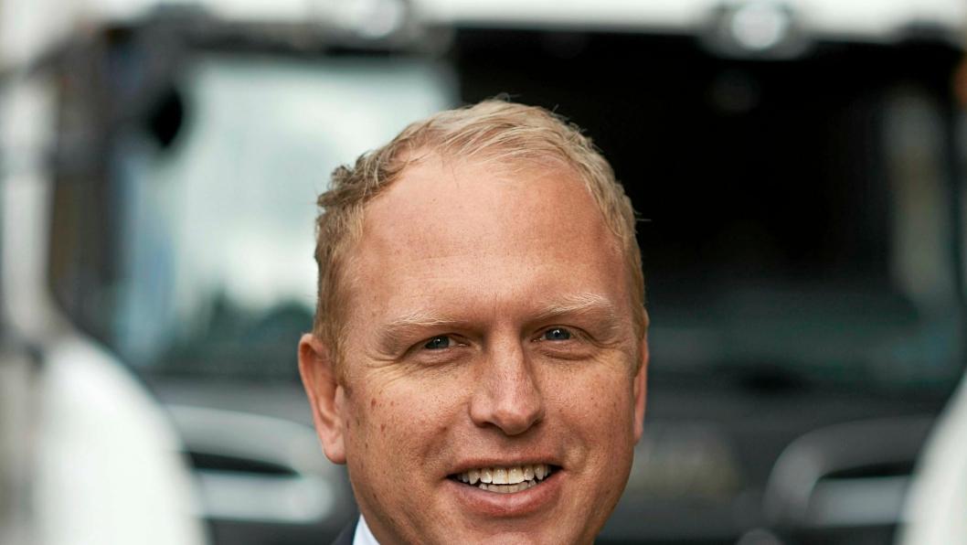 Scania-topp Henrik Henriksson kan glede seg over omsetningsrekord for den svenske lastebilprodusenten.