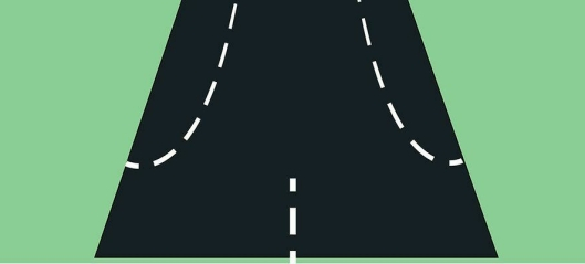 På nye svenske veier skal alle kjøre i midten