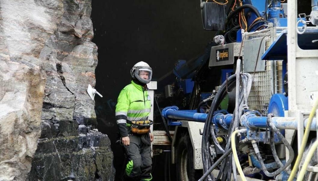 Implenia har hovedentreprisen på tunnelarbeidene til en verdi av 610 millioner kroner.