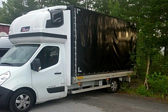 Polsk varebil stoppet på vei til Vestlandet