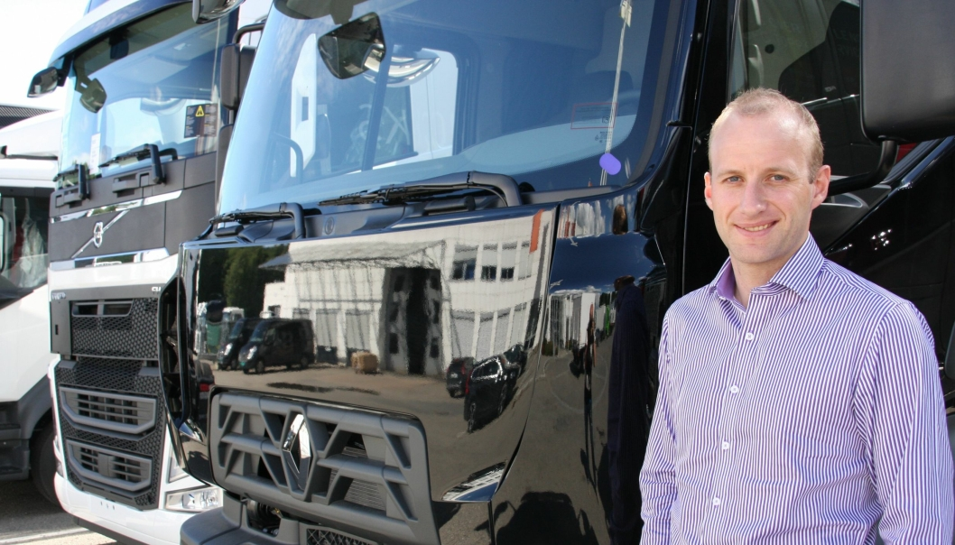 Karstein Ahlin er tilsatt som ny servicemarkedsdirektør i Volvo Norge AS.