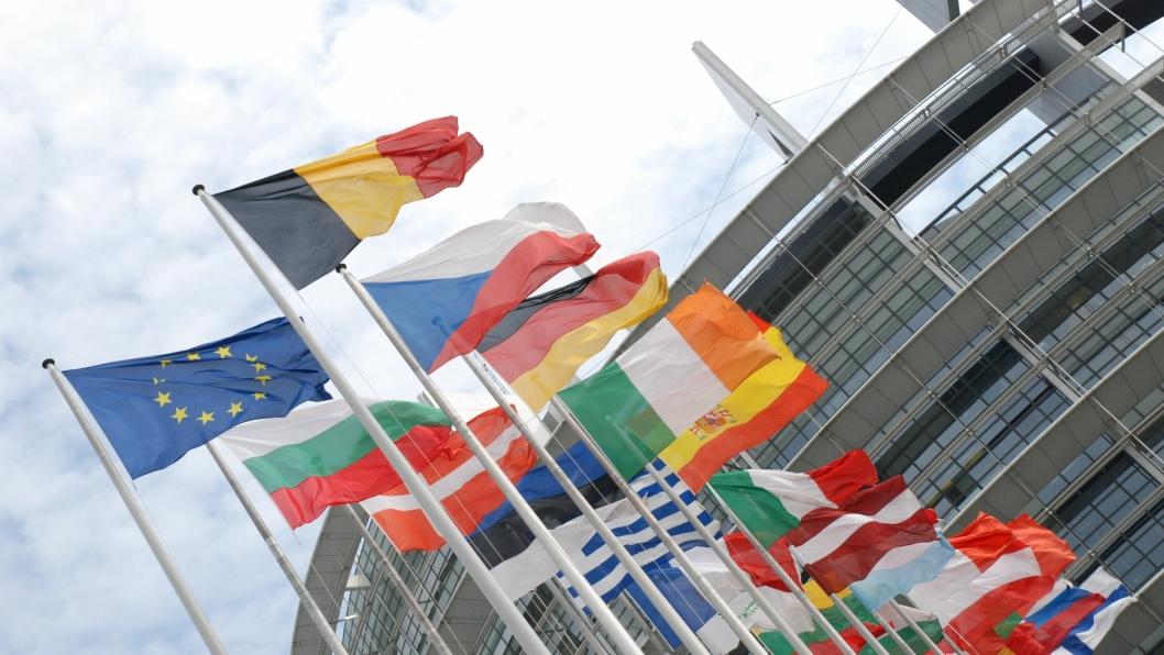 Europaparlamentet i Strasbourg, Frankrike.