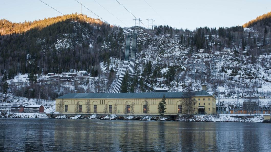 Nore 1 kraftverk i Rødberg er fra 1928. Nå skal det gamle kraftverket rehabiliteres.