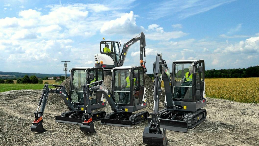OPPKJØP: Yanmar kjøper deler av Terex-produksjonen av små og mellomstore gravemaskiner, samt noen hjullastere.