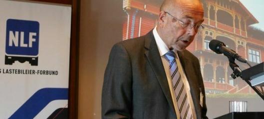 En såret Per Madsen på NLF-landsmøtet