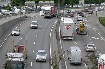 Rushtrafikken kan vare store deler av døgnet