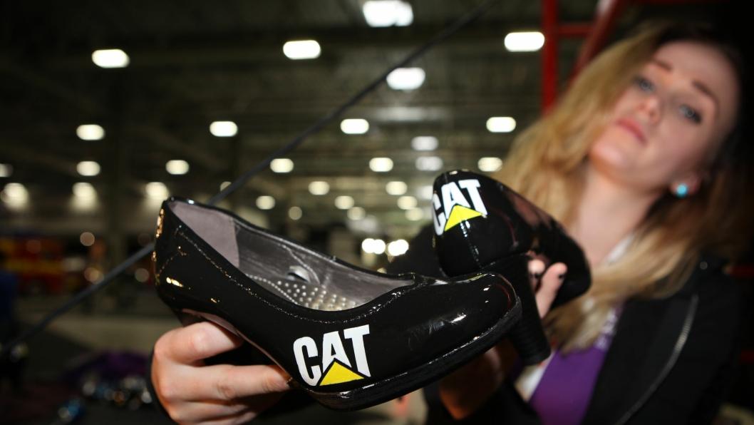Skal det være et par høyhælte Cat-sko?