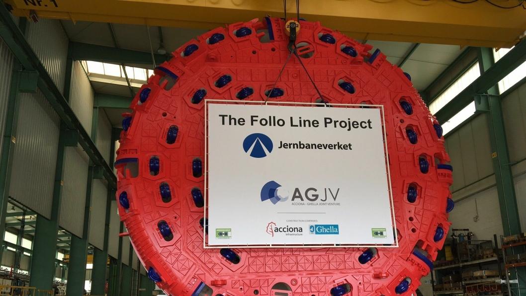 De fire TBM-ene til Follobanen, er en av de største kontraktene i den tyske TBM-produsenten Herrenknechts historie.
