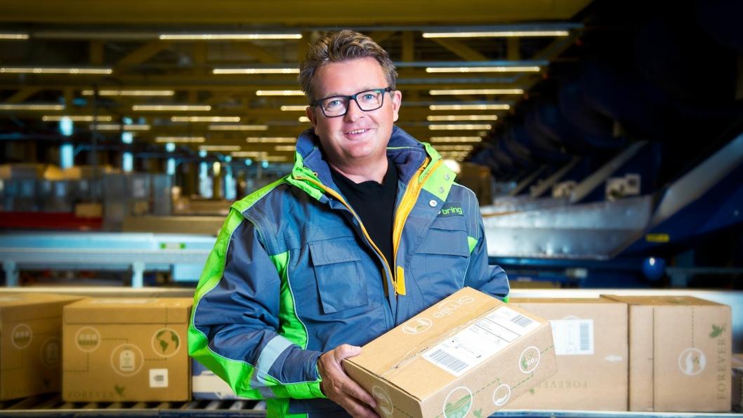 Konserndirektør for E-handel, Gunnar Henriksen, i Posten Norge.