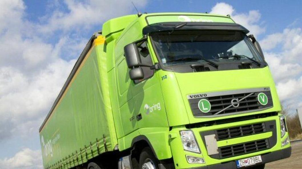 Foto fra nettsiden til Bring Trucking a.s.