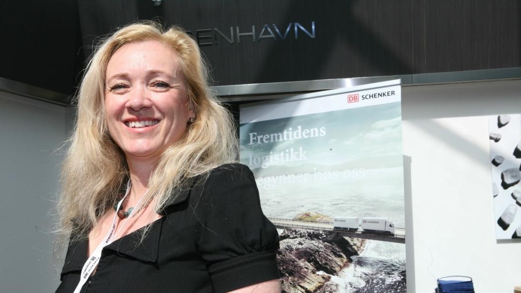 Vi møtte Kirsten Steenberg på DB Schenkers jubileumskonferanse 27. mai.