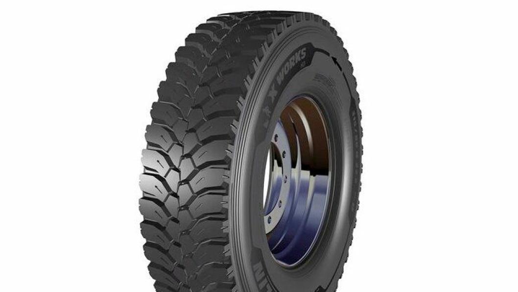 Michelin XWorksHD Drive kommer i mai og er laget for bruk på bygge- og anleggsplasser.