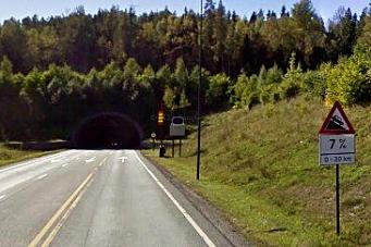 Større brannrisiko i bratte tunneler