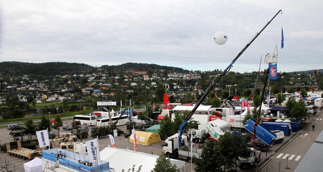 Det er fem år siden sist Transport ble arrangert på Lillestrøm. Også da var messen svær.