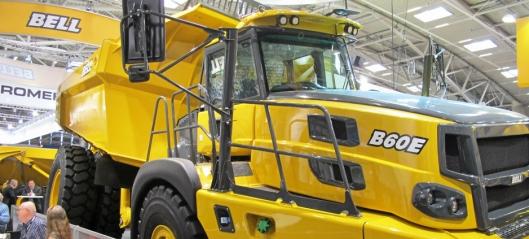Bells nye ADT 60-tonner – alternativ til tipptrucker