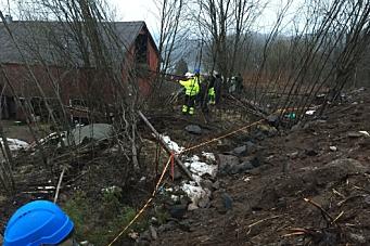 Beboere ved E6-prosjekt evakuert