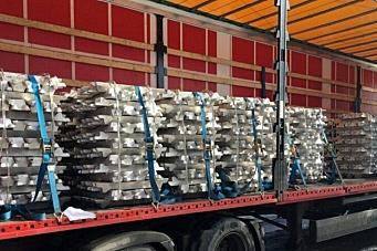 Ulovlig aluminiumstransport