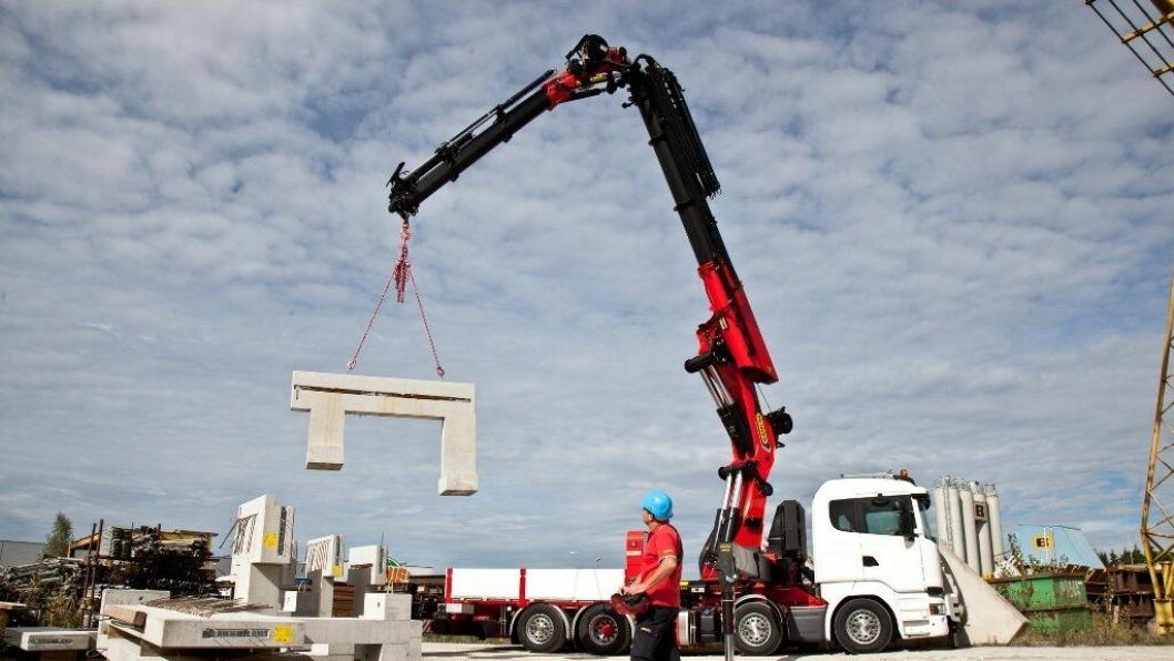 Palfinger PK 165.002 TEC7 er en ny lastebilkran beregnet for fireakslede lastebiler.