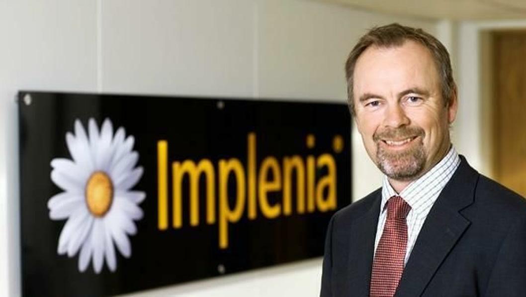 Petter Vistnes, adm. direktør i Implenia Norge AS med storkontrakt innen rekkevidde.