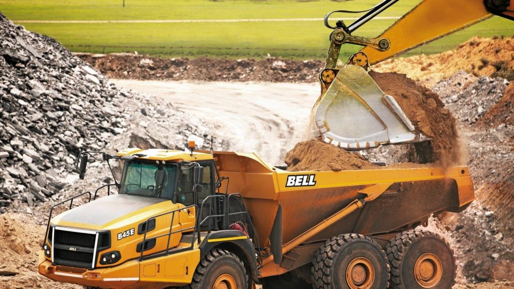 Bells nylansering av B45E vil gå rett inn i det største markedssegmentet for rammestyrte dumpere.