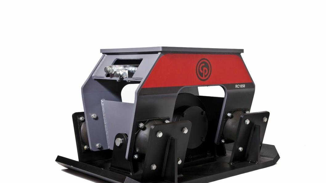 Chicagos nye serie av vibroplater for montering på gravemaskiner, består av fem modeller.