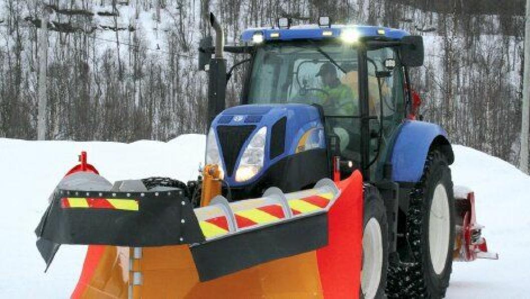 Saltvikplog og New Holland-traktor er bare litt av det som kan prøves på Arctic Winter i Nordland de to første dagene i april.