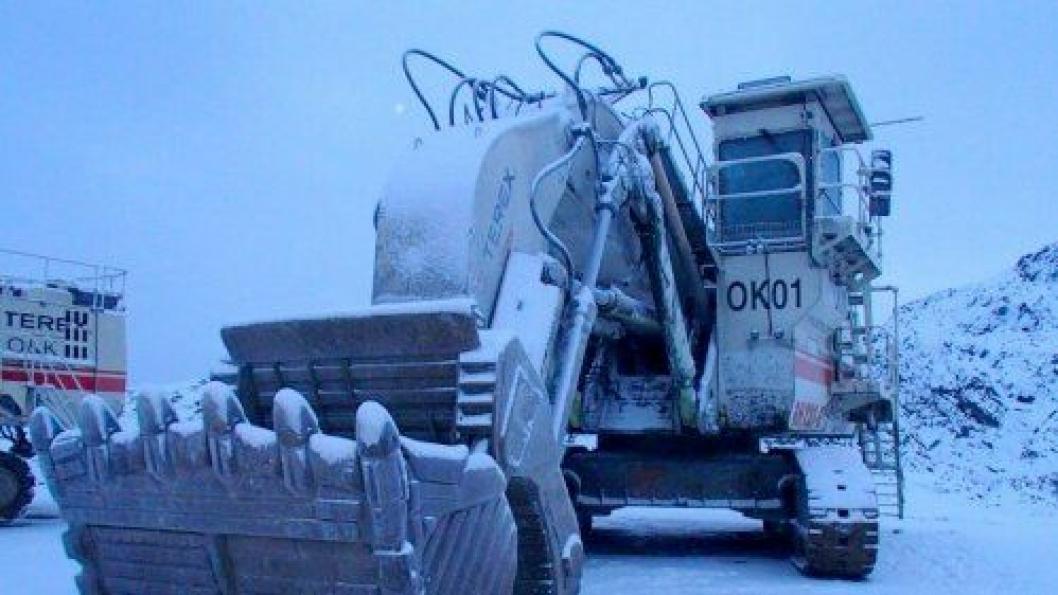 O&K RH120-E forgraver. Alle