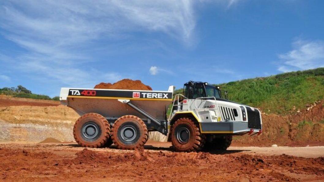 TA400 som lanseres på Bauma, er den første modellen i 10. generasjon Terex-dumpere.