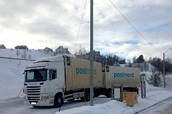 Postnord-merket transport anmeldt