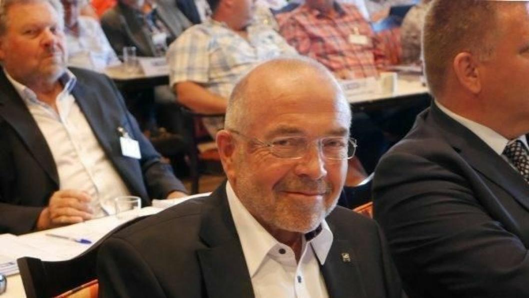 Per Madsen er gjenvalg som NLF-leder for fjerde gang.