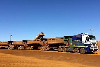350 tonn nyttelast