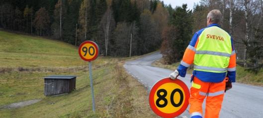 Svenskene senker farten