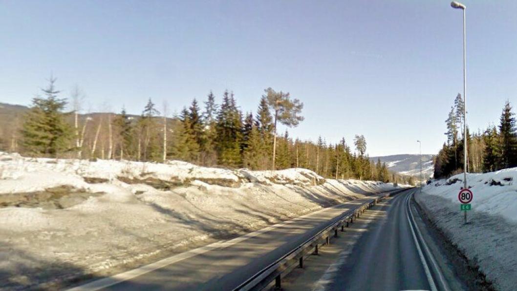 Det blir mer av dette i fremtiden. Bildet er av møtefri E6 nord for Lillehammer.