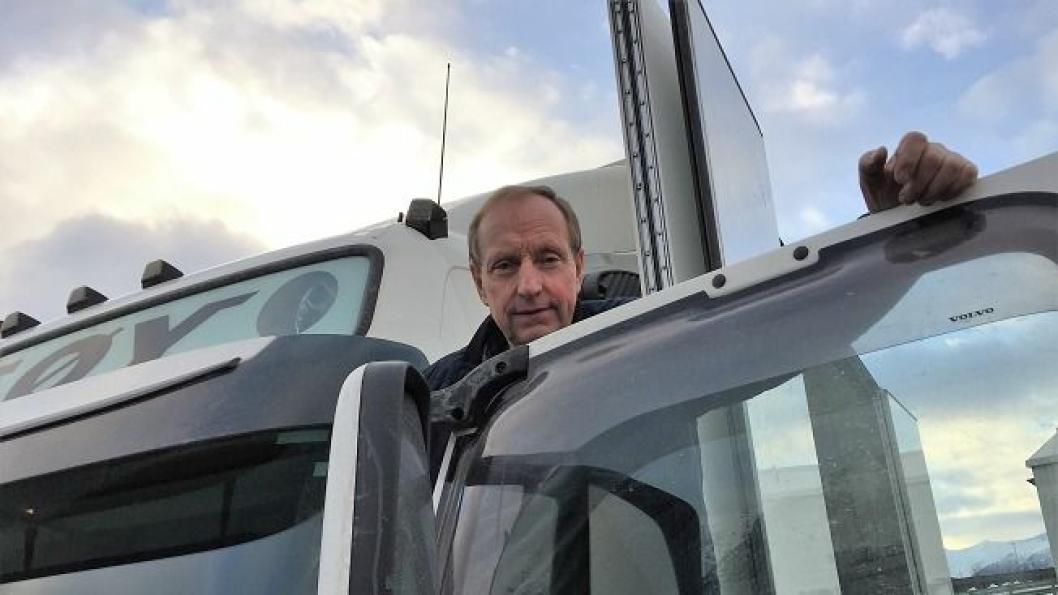 Daglig leder Arne Langseth i Veøy ser etter nye muligheter etter at kontrakten med Schenker ble terminert.