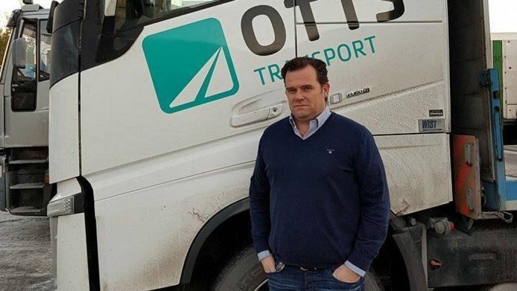 Geir Prytz Heen har styringen i en av midt-norges mest sentrale transportvirksomheter, OTTS.