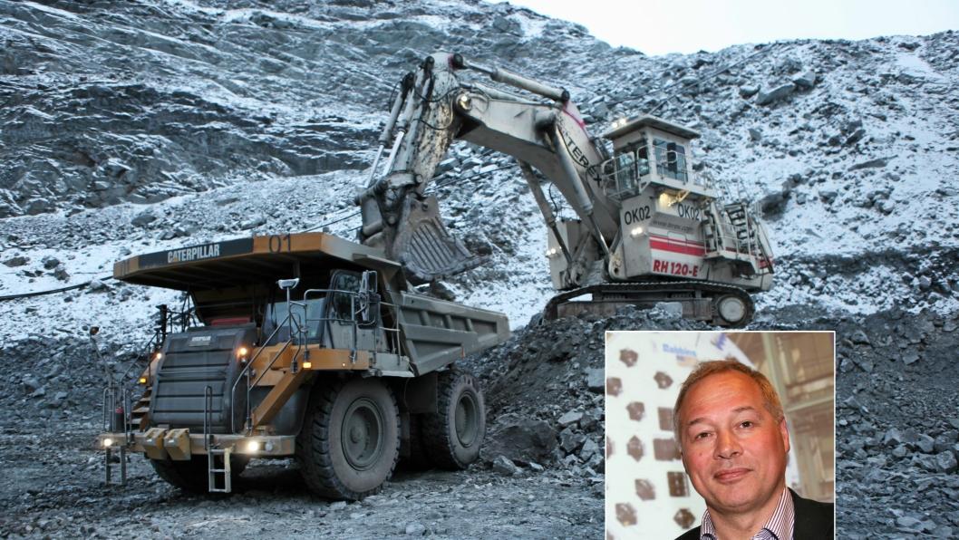 Administrerende direktør i LNS, Frode Nilsen, bekrefter at de vurderer et oppkjøp av Sydvaranger Gruve.