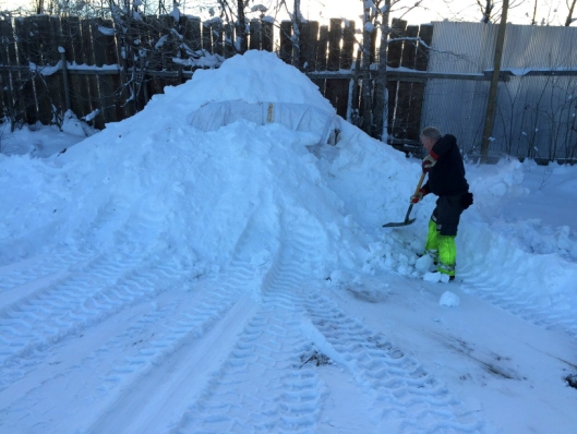 Arbeidsdagen ble annerledes enn først tenkt for anleggsarbeiderne hos Veflen Entreprenør AS. Det ble utgraving av Heatwork istedenfor gravearbeider i forbindelse med fiberføring.
