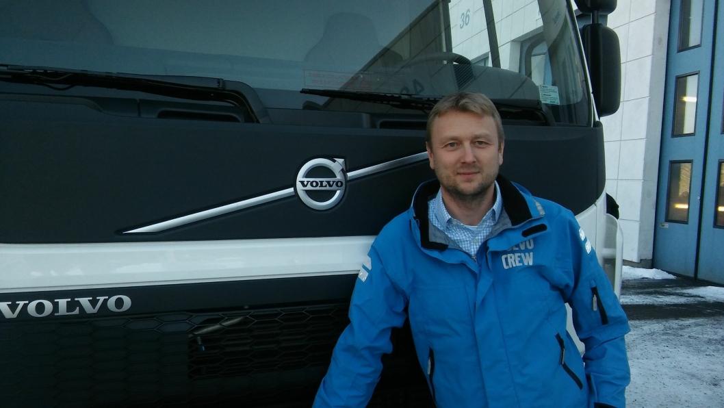 Fra 1. februar er Waldemar Andre Christensen toppsjef i Volvo Norge.