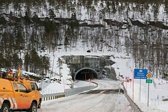 Åpnet E6-tunnel i Hamarøy