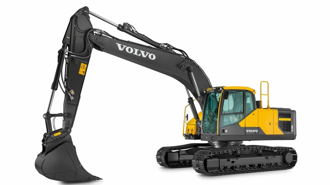 Volvo EC220E er best i en test utført i regi av Volvo Contruction Equipment.
