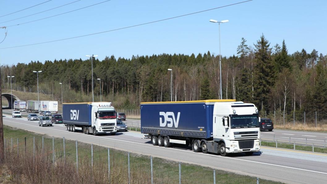 Illustrasjonsbilde fra E6 i Østfold.