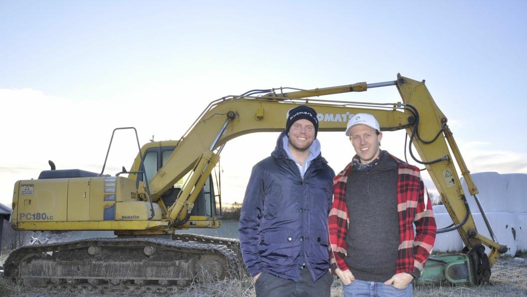 Brødrene Thomas og Philip Granvang satser hardt på å bli ledende på salg av brukte maskiner og landbruksutstyr på nettet.