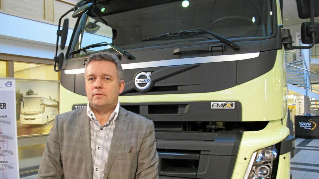 Erik Engelien har vært adm. direktør i Volvo i snaut fem år, men har vært i selskapet i over 20 år i ulike roller.